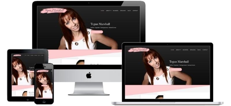 Tegan Marshall Website Case Study