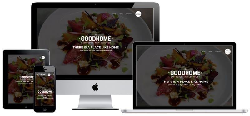 The Good Home Bar - Blue Dog Digital Marketing